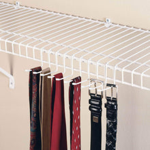 Load image into Gallery viewer, Shop closetmaid 71008 versatile tie belt rack white