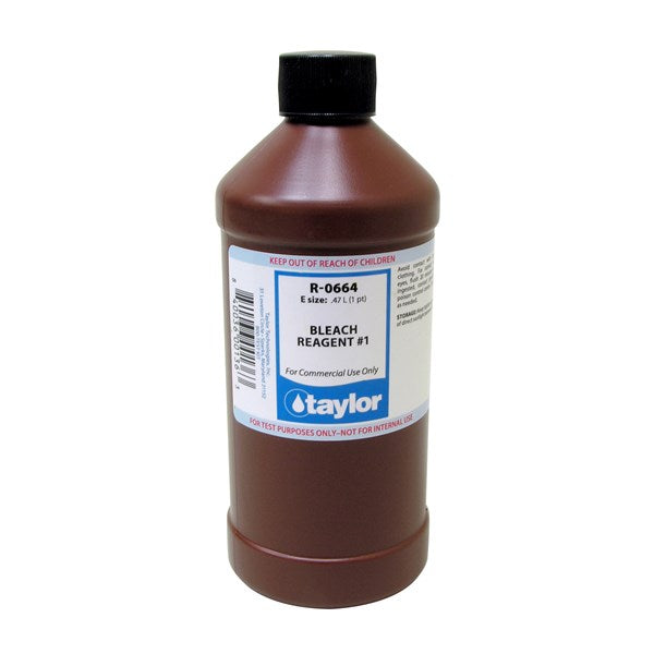 Taylor Bleach Reagent #1 - 470 mL (16 oz) Refill