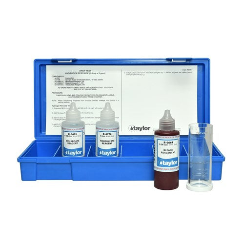Taylor Hydrogen Peroxide Test Kit - 60 mL