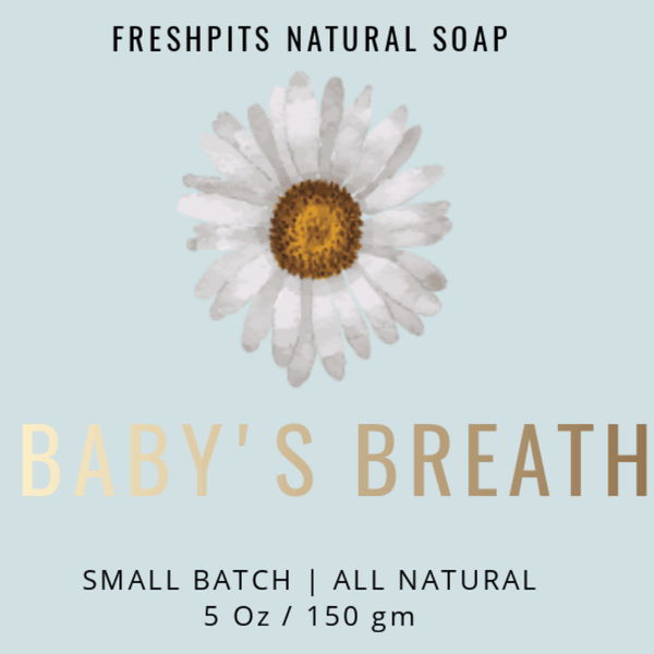 FreshPits Baby's Breath Scented Hand Soap