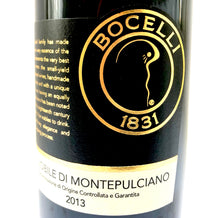 Load image into Gallery viewer, BOCELLI NOBILE DI MONTEPULCIANO 2013 13.5% 75CL