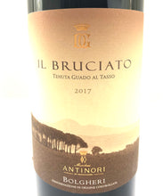 Load image into Gallery viewer, ANTINORI IL BRUCIATO BOLGHERI DOC 2017 14% 75CL