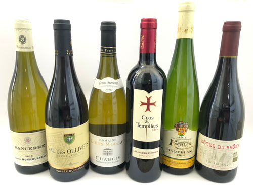 FRENCH WINE MIX CASE X 6