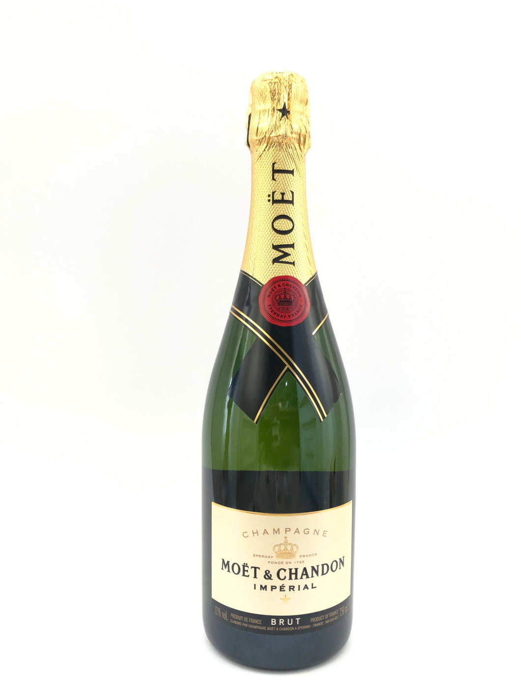 MOET ET CHANDON BRUT IMPERIAL NV 12% 75CL