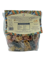 Load image into Gallery viewer, SICILIAN EXQUISITENESS CONCHIGLIE 5 COLORI RIGATE 250G