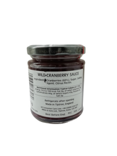 Load image into Gallery viewer, WILKIN & SONS TIPTREE WILD CRANBERRY SAUCE210G