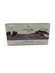 ANTHON BERG CHERRY RUM MARIPAN CHOCOLATE 220G