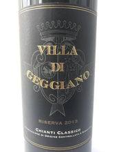 Load image into Gallery viewer, VILLA DI GEGGIANO CHIANTI RISERVA 2013 75CL