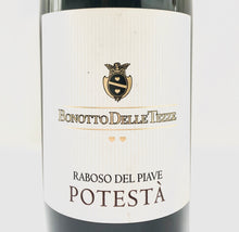 Load image into Gallery viewer, BONOTTO DELLE TEZZE RABOSO DEL PIAVE POTESTA 13% 150CL