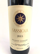 Load image into Gallery viewer, TENUTA SAN GUIDO SASSICAIA 2015 14% 75CL