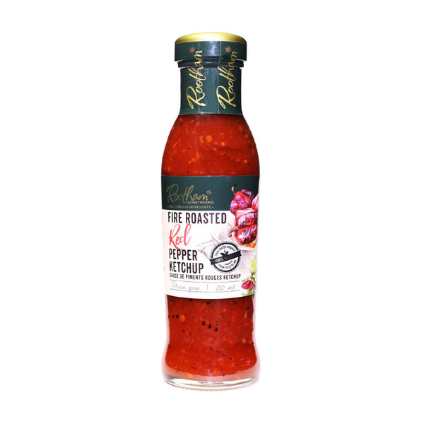Rootham Fire-Roasted Red Pepper Ketchup