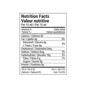 Rootham Strawberry Rhubarb Preserve Nutritional Info