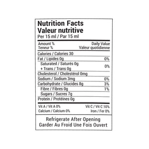Rootham Thai Dipping Sauce Nutritional Info