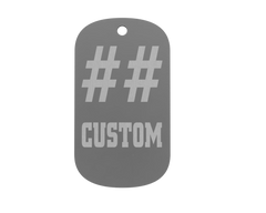 Championship Dog Tag - Number