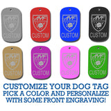 Dog Tag with AYF Logo