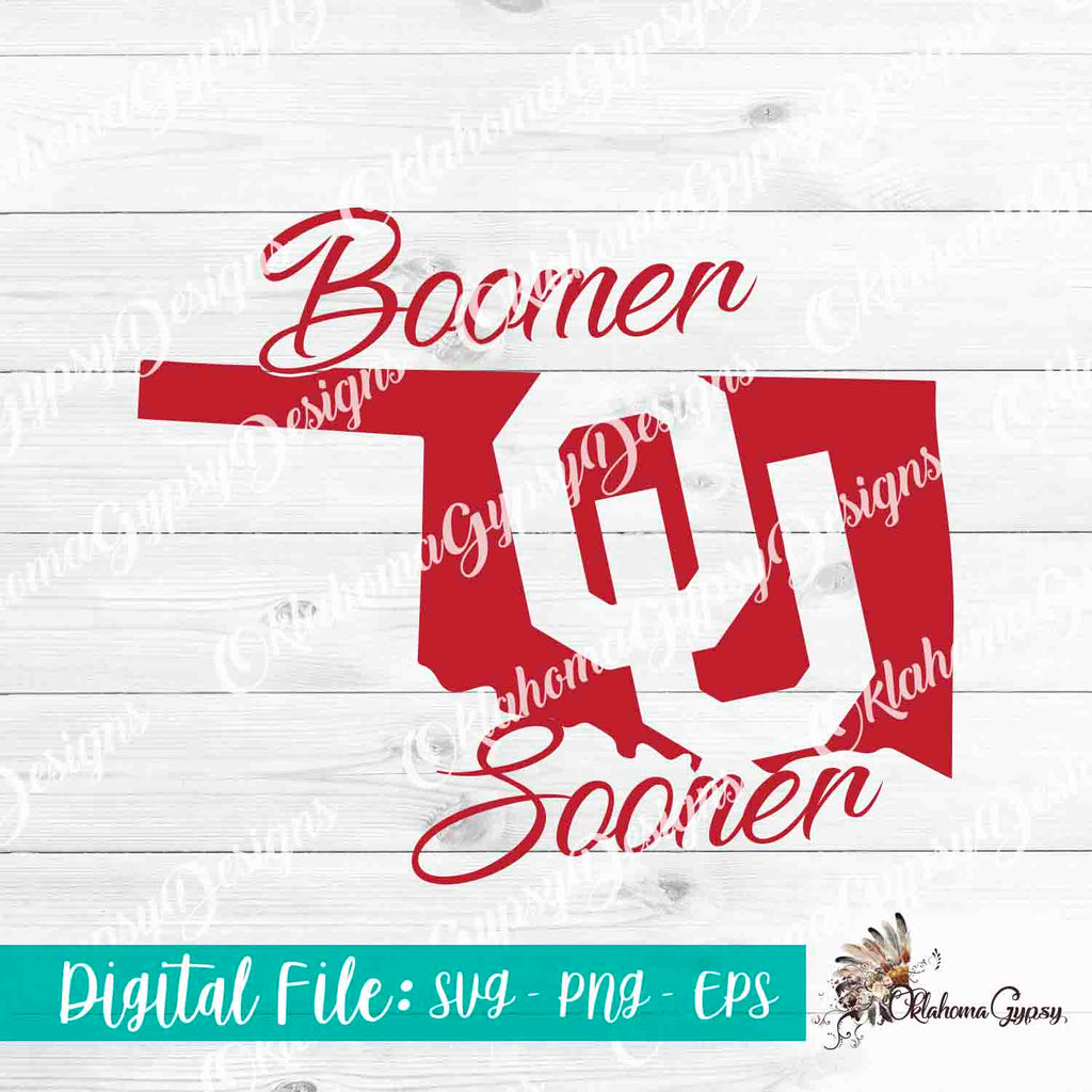 OU Boomer Sooner Digital File
