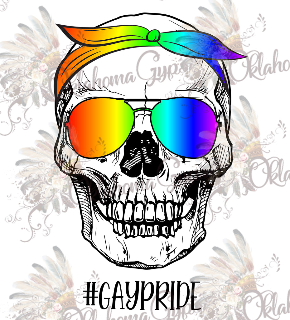 #GayPride Male Skeleton Digital File
