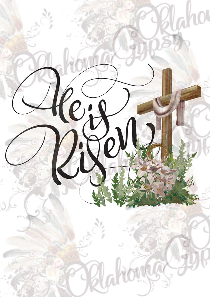 He Is Risen Digital File