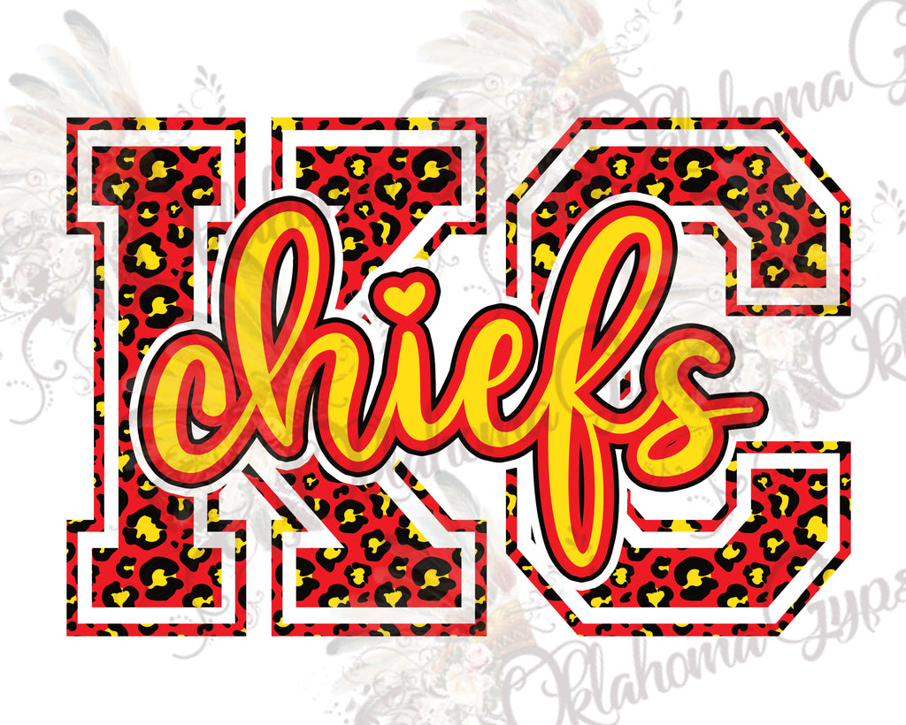 KC Chiefs Leopard Digital File