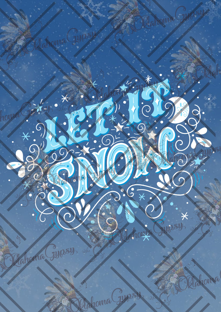 Let It Snow Digital File