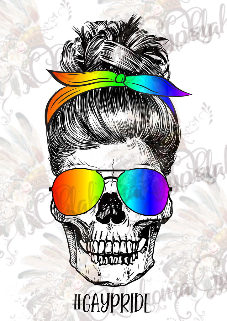 #GayPride Skeleton Digital File