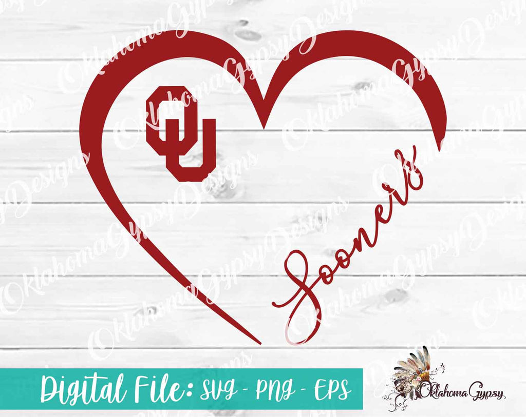 OU Sooner Heart Digital File