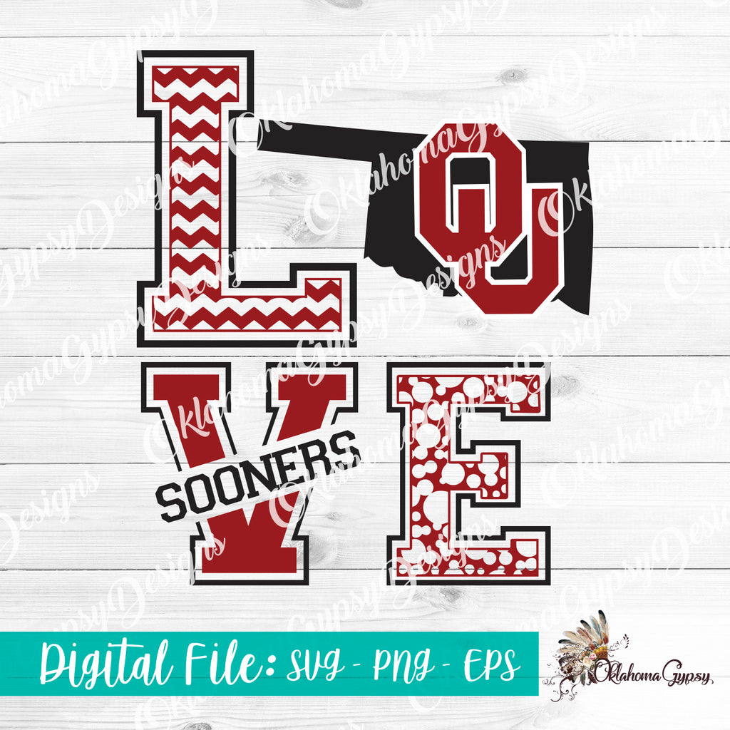 LOVE OU Sooners Digital File