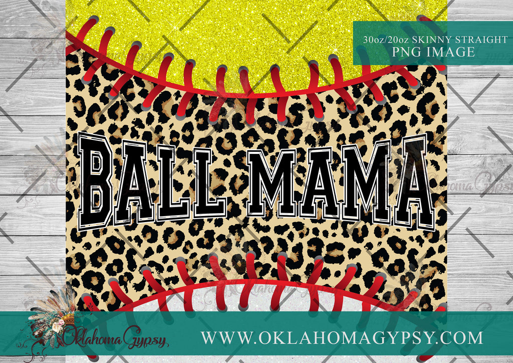 Ball Mama ~ Softball & Baseball Mama File Wraps