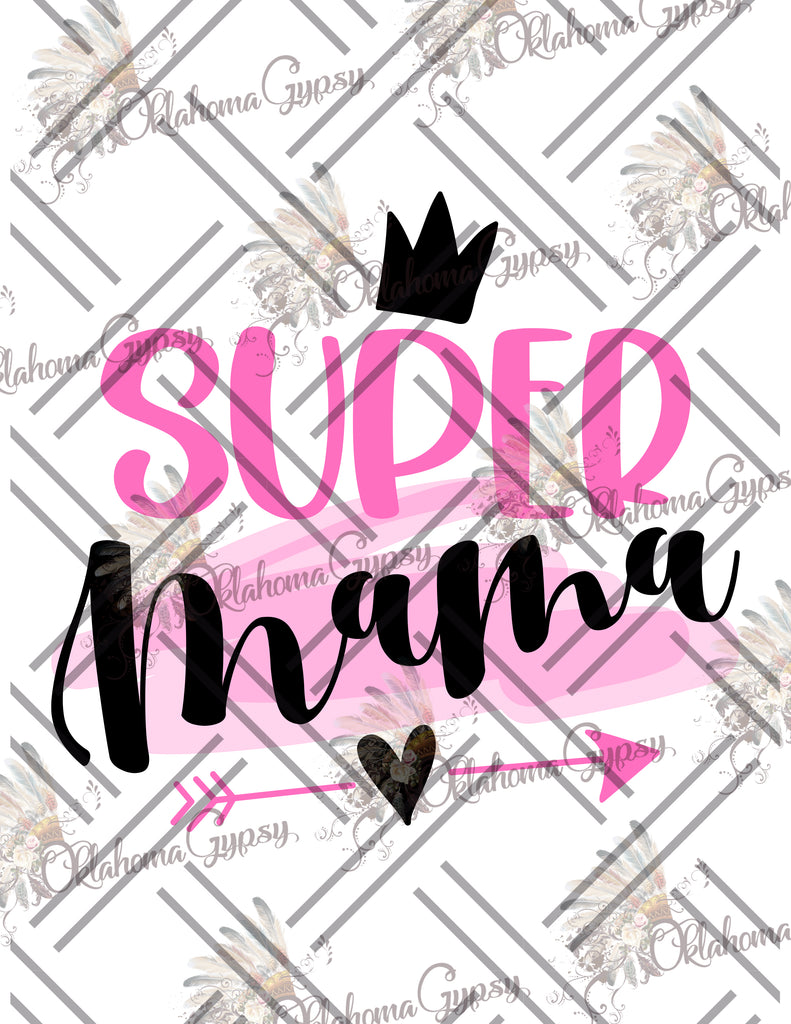 Super Mama Digital File