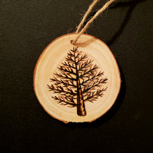 Load image into Gallery viewer, Tree Wood Ornament