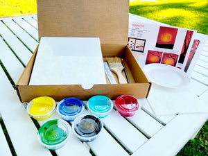 Swinging Girl Paint Kit