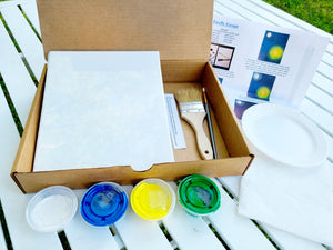Snowmans Winter Night Paint Kit