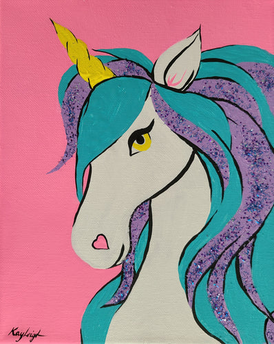 Glittery Unicorn Paint Kit