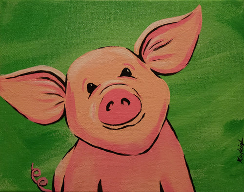 Little Piggie Paint Kit
