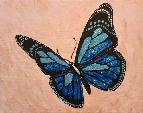 Sparkling Butterfly Paint Kit
