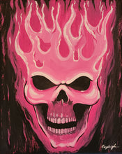 Load image into Gallery viewer, Pink Skull Paint Kit