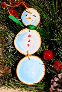 3 Tier Snowman Ornament Paint Kit