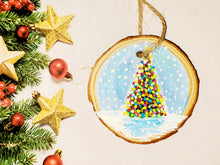 Load image into Gallery viewer, Christmas Lights Ornament Paint Kit
