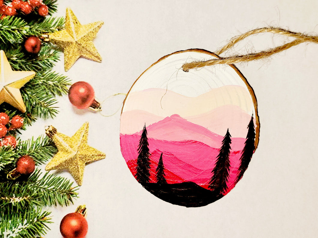Misty Mountain Ornament