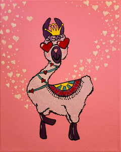 Llama Love Paint Kit