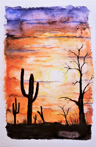 Desert Night-Print