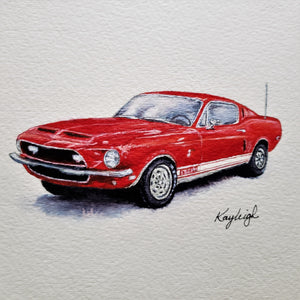 Ford Mustang-Print