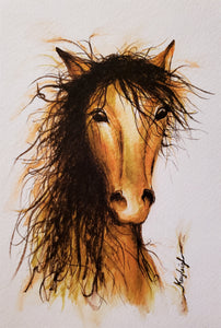 A Horse with No Name-Print