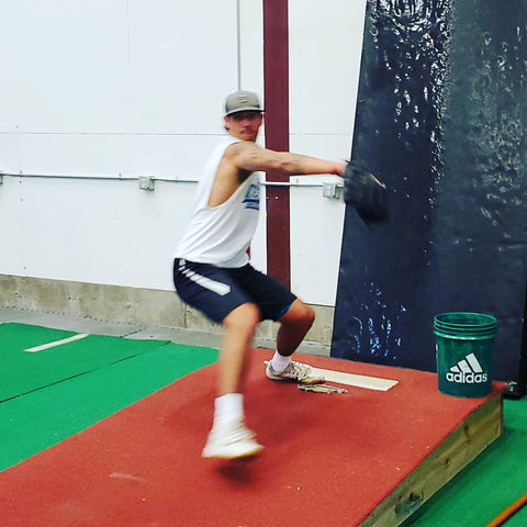 Baseball pitching mechanics