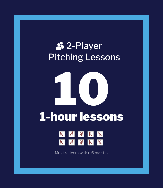 2-Players: 10 Lesson Pack - single person Fee