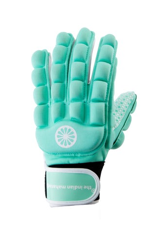 Glove foam full [left]-mint