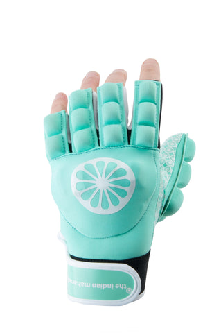 Glove shell/foam half [left]-mint