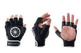 Glove shell half [left]-black