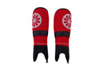 Shinguard junior mesh - red