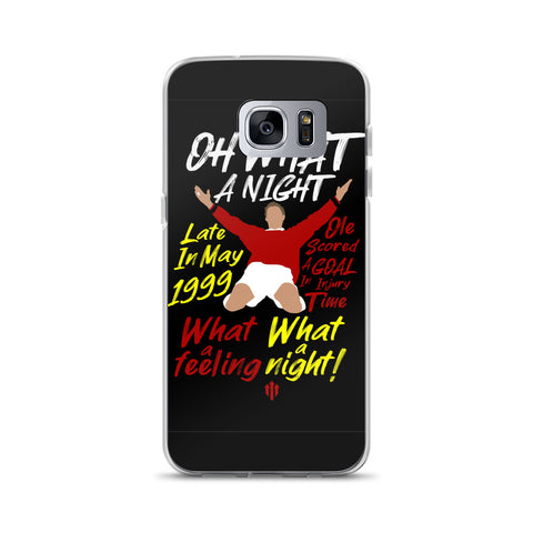 "MUFC ""Oh What A Night Chant"" Samsung Case"